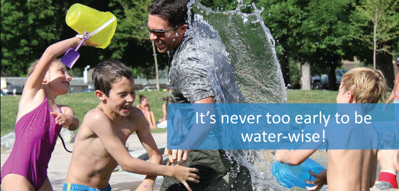 It's never too early to be water-wise!