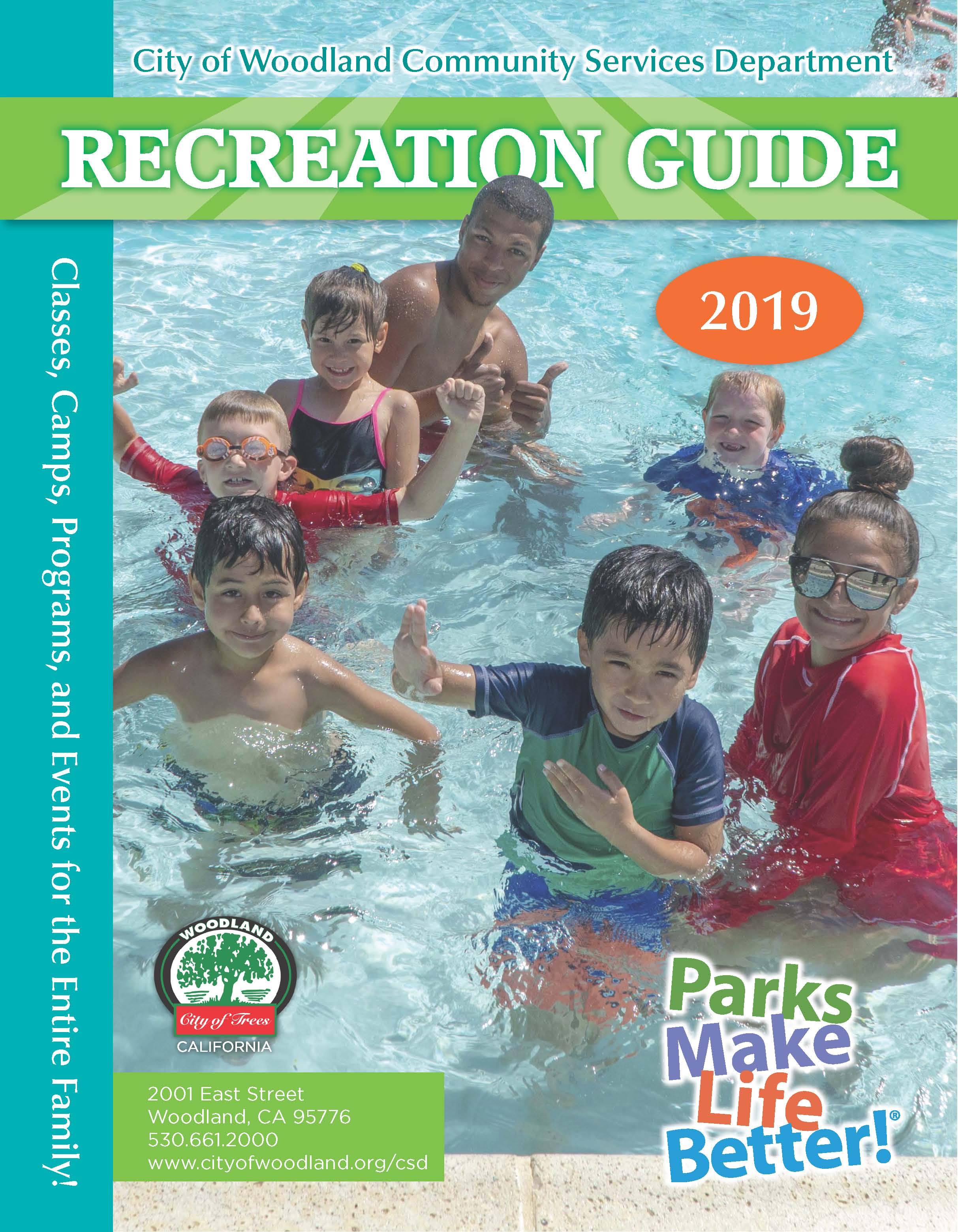 Summer Rec Guide cover photo