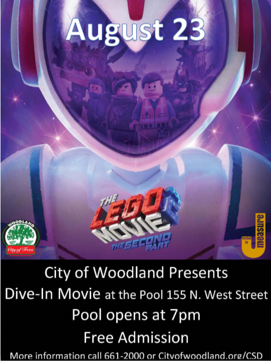 Dive In Movie Flyer
