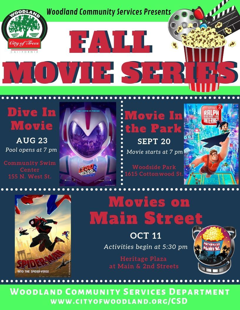 Fall Movie Series Flyer