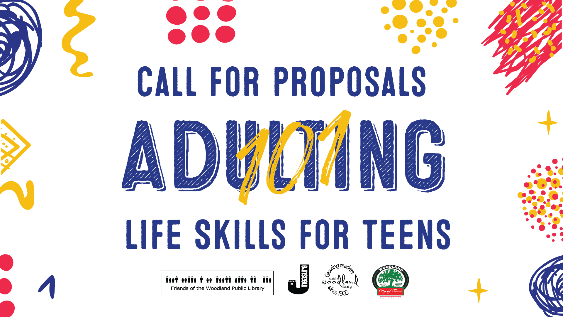 Adulting 101 Call for Proposals