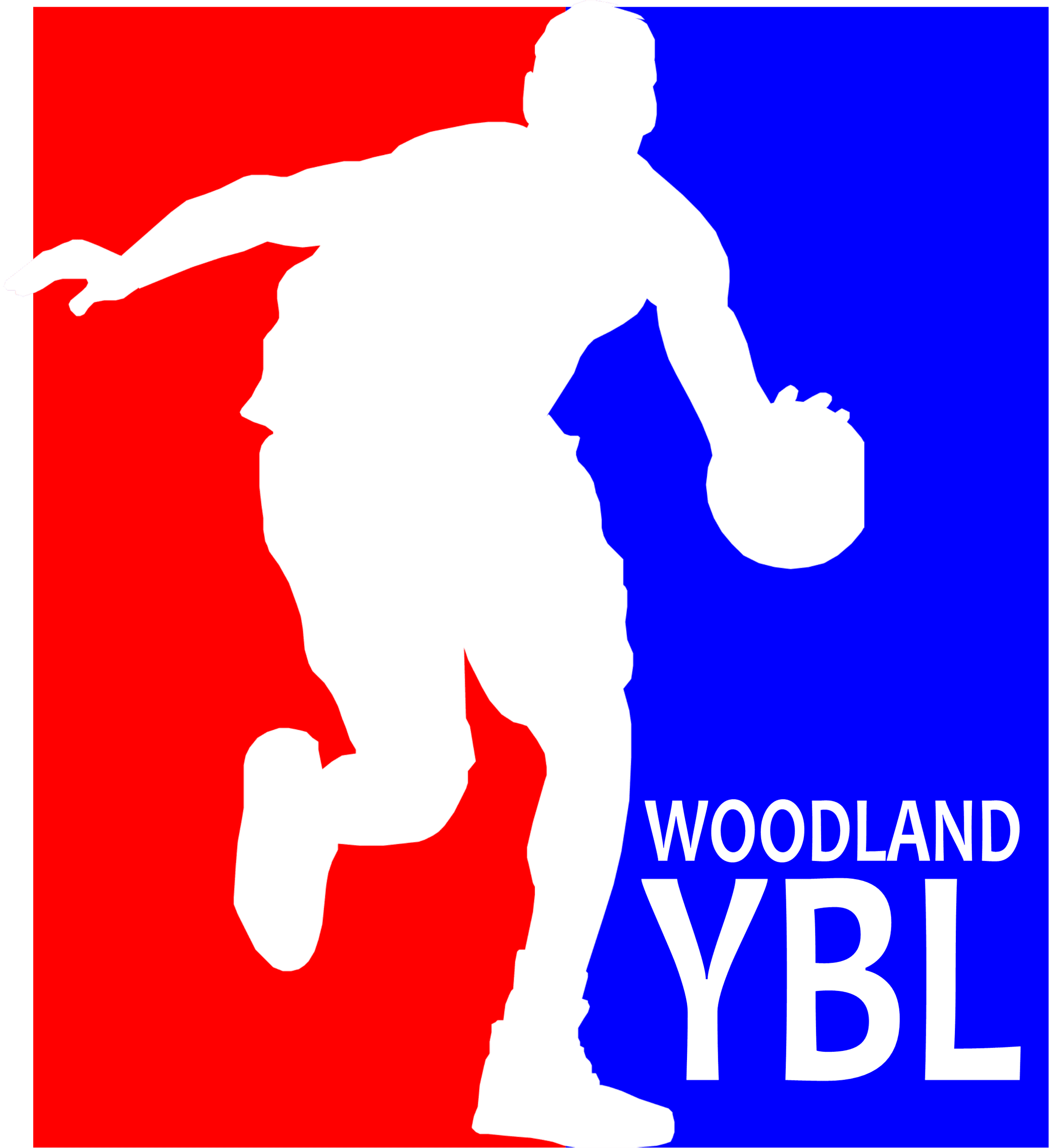 Woodland Youth Basketball Logo