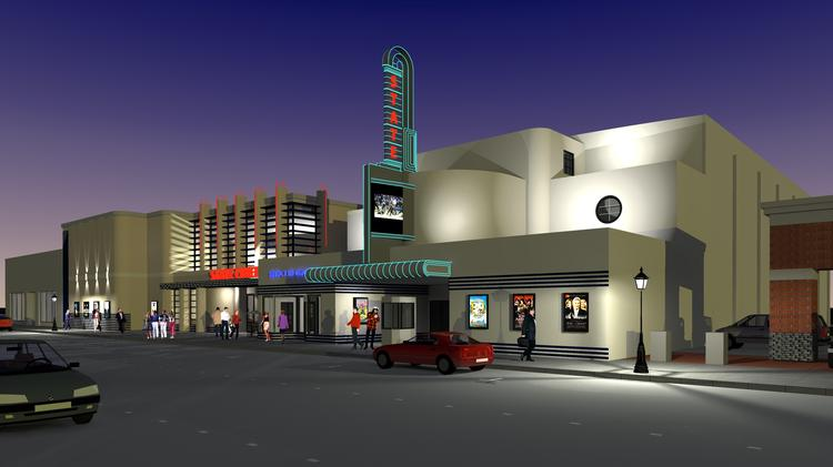 State Theater Rendering
