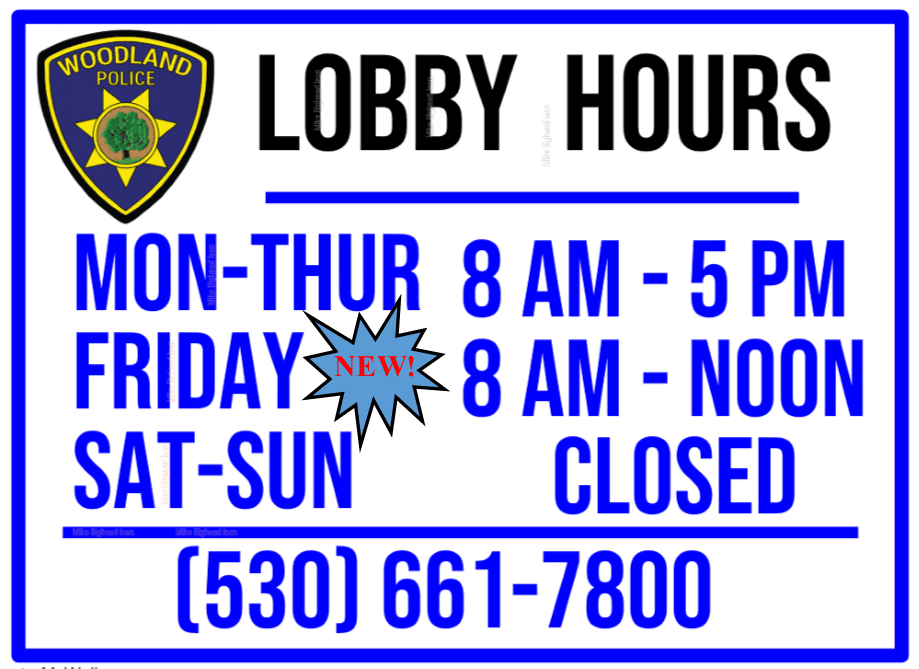 New Lobby Hours