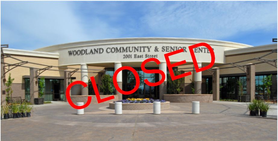 Community & Senior Center Closed