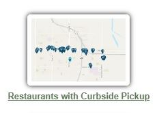 curbside pickup map