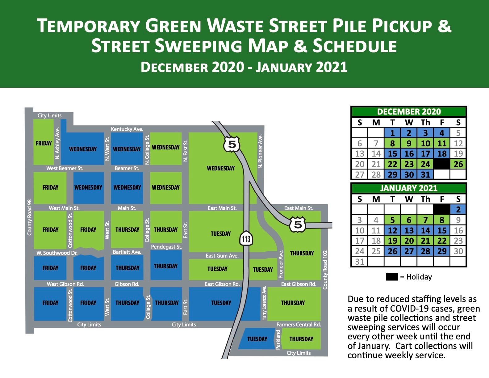 2020-21 Temp Green Waste Flyer